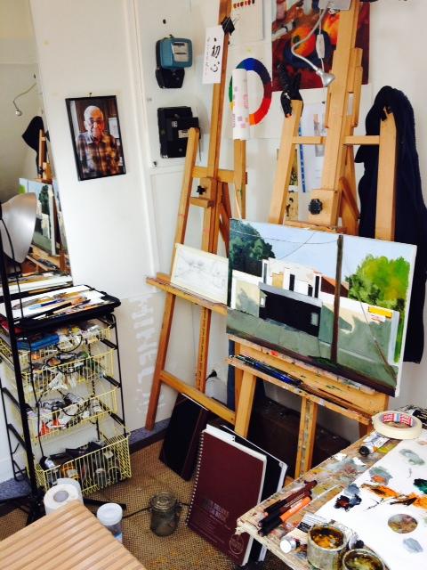 Studio at 34 Notre Dame de Lorette...