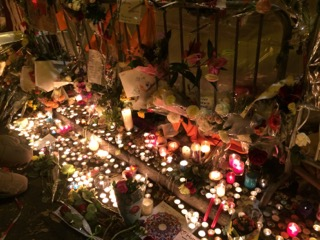 Candles at Bataclan