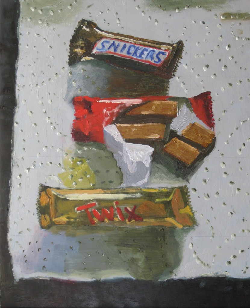THE CANDY MAN©2016 Felice PanagrossoOil on Panel10 x 8 inches